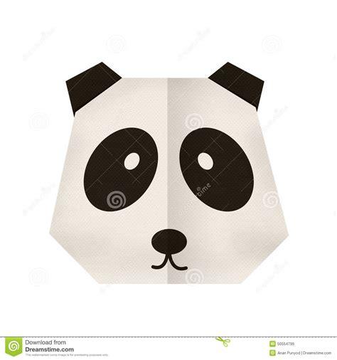 Origami Panda Easy - origami origami panda royalty free stock image image
