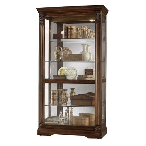 howard miller curio cabinet howard miller 680479 andreus curio cabinet atg stores