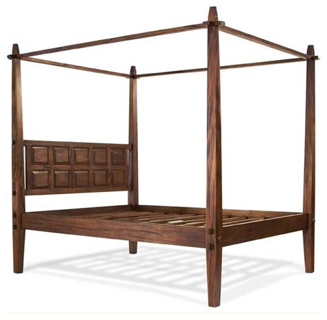 canopy bed frame full tropical canopy bed full asian bed frames