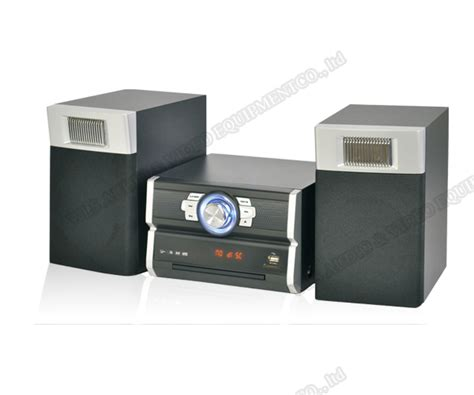 Speaker Vcd china selling dvd vcd cd player mini hifi system with speakers set support bluetooth fm usb