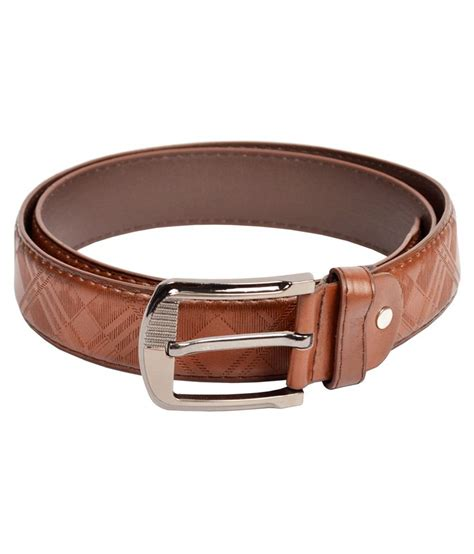 dandy bronw non leather belt buy at low price in