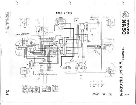 honda hobbit moped cdi wiring diagram get free image