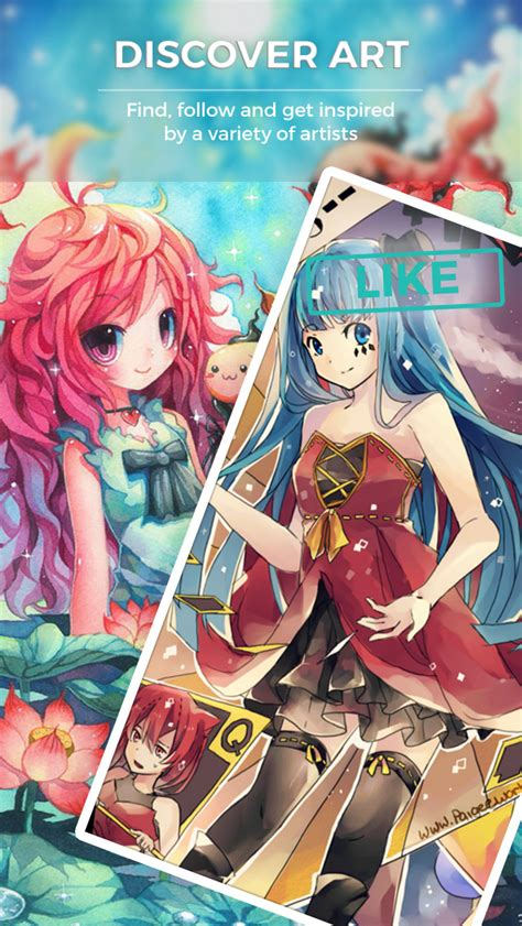 E Anime App by Paigeeworld How To Draw Anime And