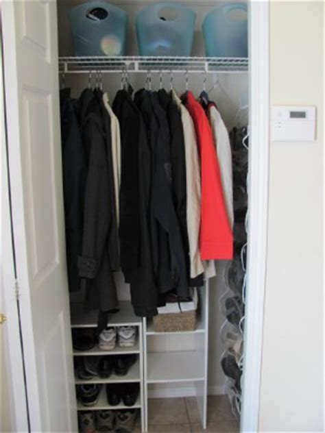 Organize Entryway Closet by Thin Hangers Can Your Closet Space