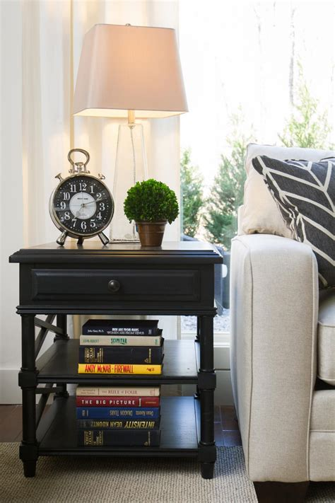 Elbow Room Hgtv Living Room Side Table Ideas
