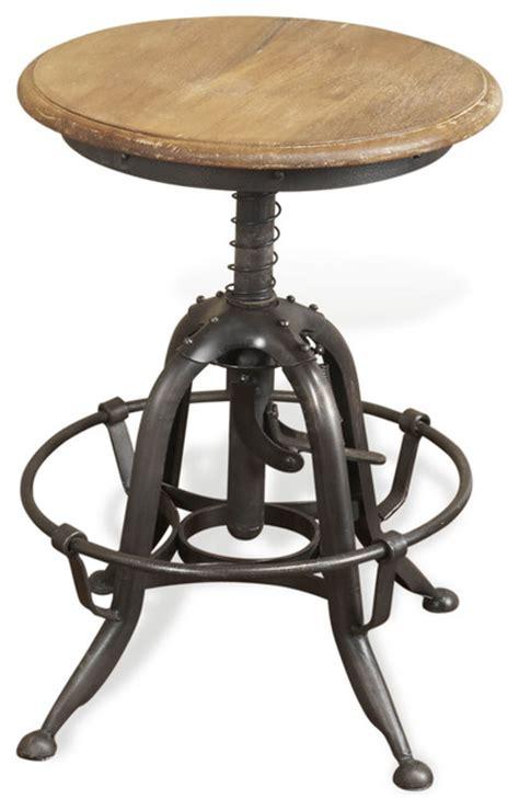 rustic industrial bar stools novara industrial lime wash wooden metal rustic stool