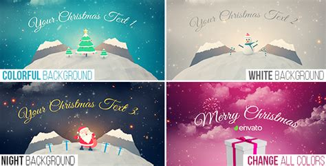 christmas after effects template videohive 18710816
