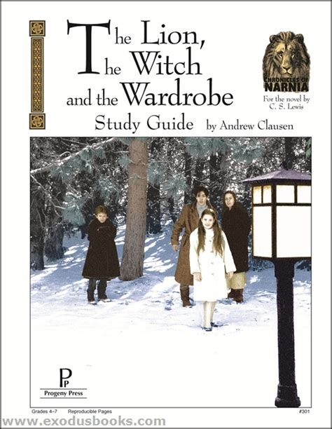 Discussion Questions For The The Witch And The Wardrobe by The Witch And The Wardrobe Progeny Press Study