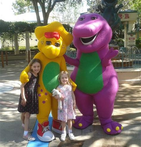 barney & friends picture of universal studios florida