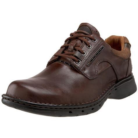 mens oxford casual shoes s clarks clarks lyst