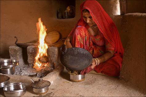 Rajasthani Kitchen cooking jodhpur rajasthan claude renault photography