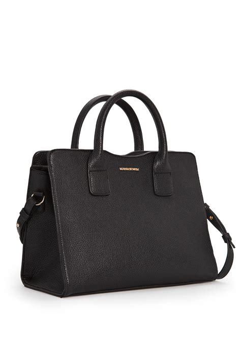 Mango Tote Bag lyst mango pebbled tote bag in black