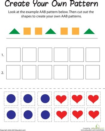 Pattern Games Primary   77 best primary math patterns images on pinterest math