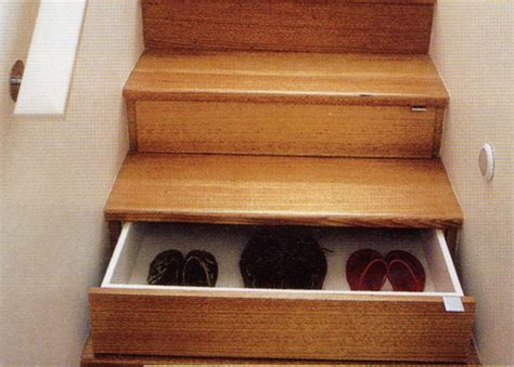 Stair Drawers Storage by A Brilliant Storage Idea Staircase Drawers Inhabitat