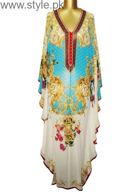 design kaftan dress latest pakistani kaftan dresses 2017 for girls style pk