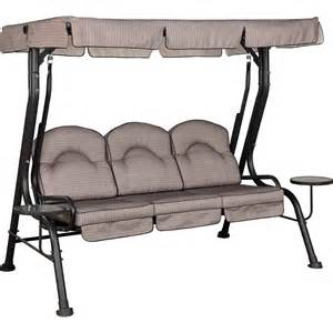 Courtyard Creations Patio Furniture Replacement Cushions Courtyard Creations Deluxe 3 Seat Swing Hammocks Swings More Shop The Exchange