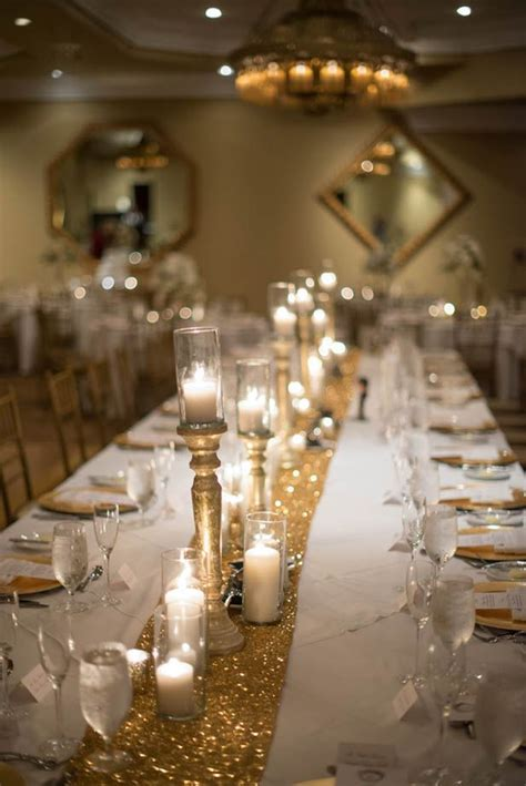 25  best ideas about Gold Table Runners on Pinterest