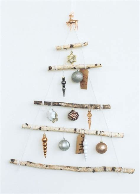 attractive space saving christmas tree inspirations