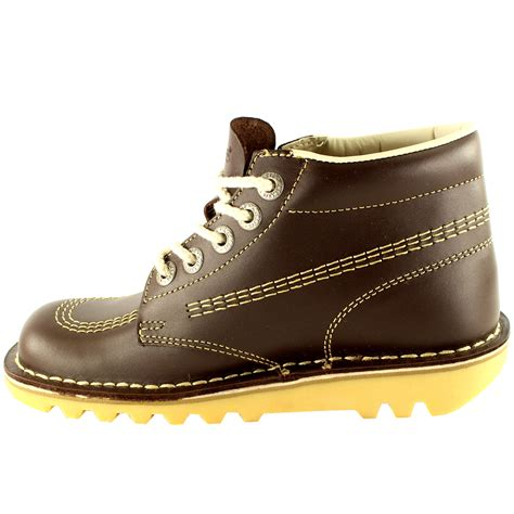Kickers Boot Original Uk 42 kickers kick hi classic leather office work