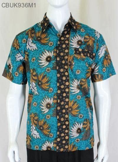 Teratai Batik kemeja batik teratai tumpal kemeja lengan pendek murah