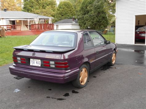 dodge shadow turbo for sale 1989 dodge shadow es turbo classic dodge shadow 1989 for