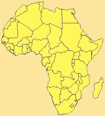 asia y africa mapa gu 237 a de globalizaci 243 n mapa de 193 frica