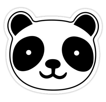 """cute panda"" stickers by xooxoo 