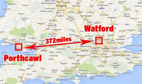 Wales to Watford  Man commutes 372 miles EVERY DAY   UK