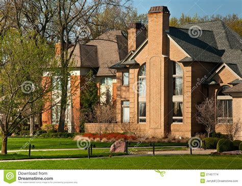 Large Luxury Homes Large Luxury Homes Stock Photo Image Of Rent Home Morgage 27457774