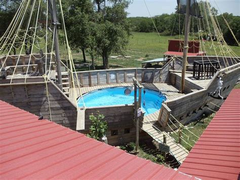 pirate ship pool pools and pergolas pinterest