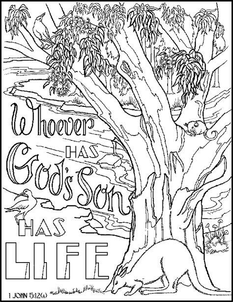 got jesus got life coloring page