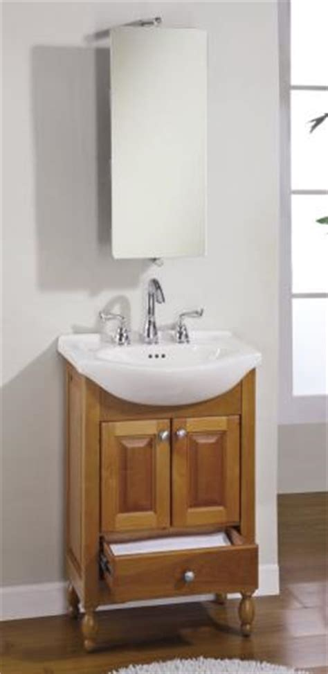 narrow depth console bath vanity custom options