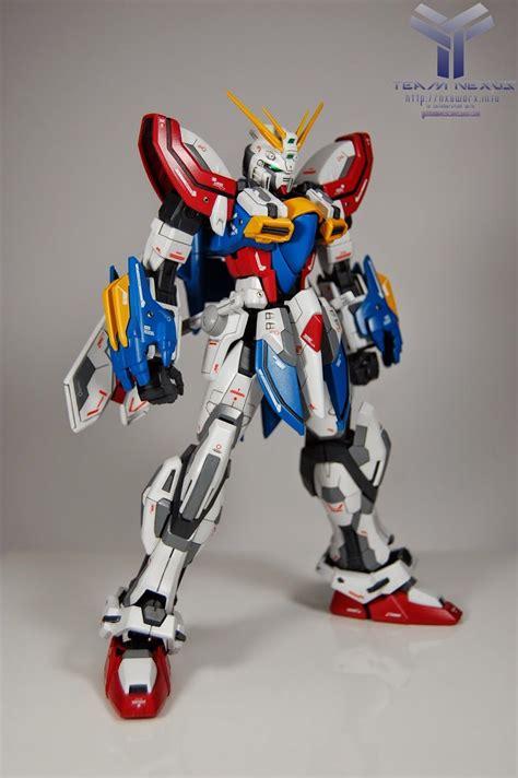mobile suit gundam evolve mg 1 100 god gundam quot evolve quot custom build gundam kits
