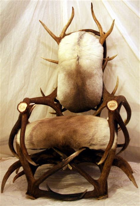 Deer Antler Chair by Handcrafted Antler Chairs Stools And Benches