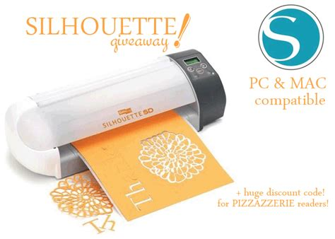 Silhouette Giveaway - giveaway the silhouette digital cutting tool pizzazzerie