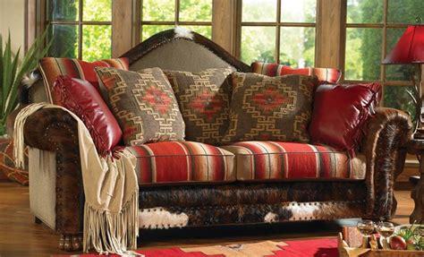 sawtooth serape upholstery southwestern style sofa http