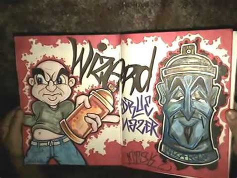 blackbook  wizard  graffiti   youtube