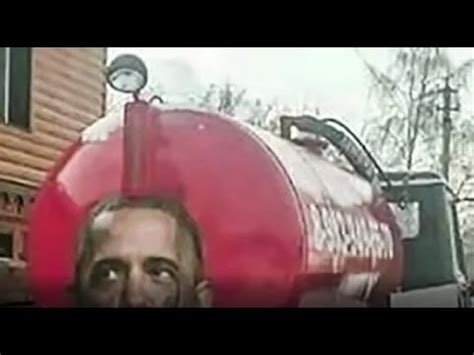 trucker puts hilarious picture  obama   truck