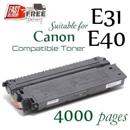 Canon E31 Original Cartridge Toner compatible canon e31 e40
