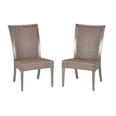 hton bay carleton place patio armless dining chairs 2
