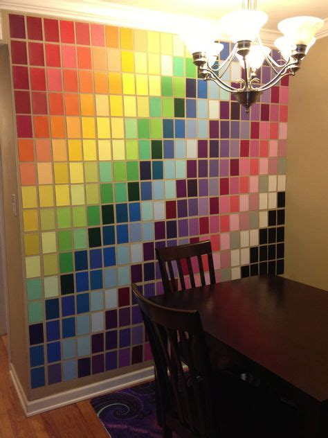 how to get a paint chip the wall 25 beautiful things you can make with paint sle cards