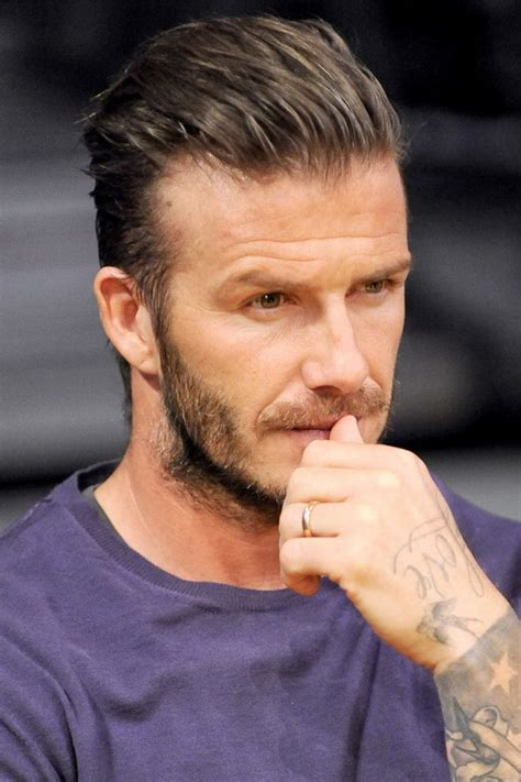 David Beckham Hairstyles by David Beckham
