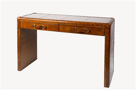 leather console table leather console table leather console table by of faux