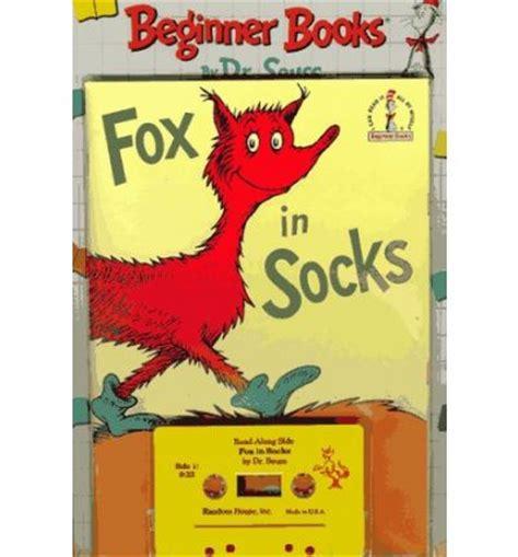 libro fox in socks big fox in socks dr seuss 9780394883229