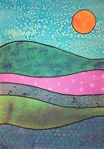angela anderson art blog watercolor technique landscapes