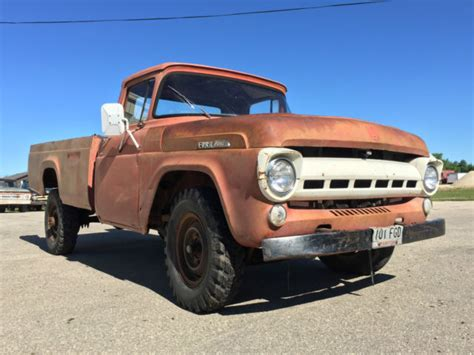 1957 ford truck for sale 1957 ford f350 styleside truck f100 barn find rat