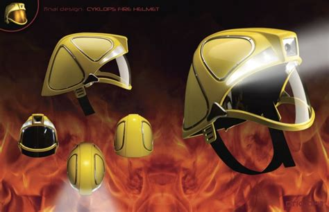 design fire helmet accd art center college of design projects by paul fu at