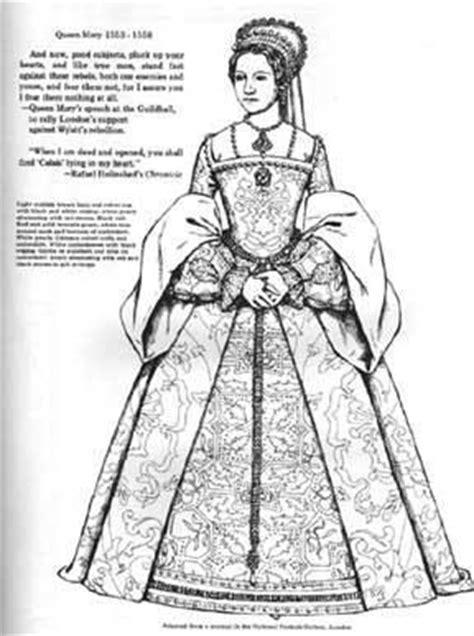 coloring pages queen elizabeth 1 elizabeth tudor colouring pages middle ages pinterest