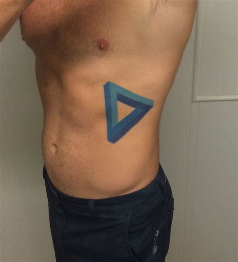 penrose triangle tattoo penrose triangle be the impossible change