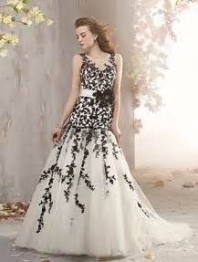 Black and white flair 7 gorgeous alfred angelo wedding dresses